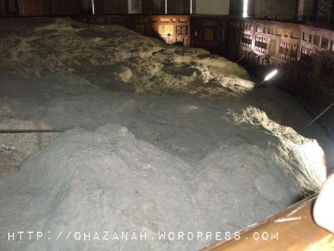 Batu Terapung Dalam Peristiwa Isra' Mikraj